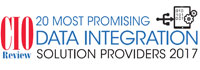 20 Most Promising Data Integration Solution Providers - 2017