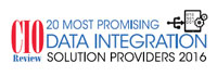 Top 20 Data Integration Solution Companies - 2016